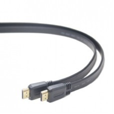 GEMBIRD HDMI male-male flat cable, 3 m, black
