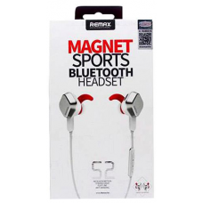 REMAX MAGNET SPORTS BLUETOOTH HEADSET RB-S2 ΛΕΥΚΟ