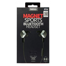 REMAX MAGNET SPORTS BLUETOOTH HEADSET RB-S2 ΜΑΥΡΟ