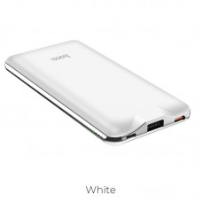 HOCO J39 QUICK ENERGY POWERBANK 10000mAh PD+QC3, ΛΕΥΚΟ