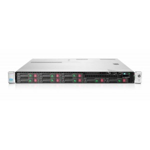 REF SERVER HP PROLIANT DL360e 1U, 2x E5-2450L, 32GB, 2x 240GB SATA SSD, B120i - GRADE A
