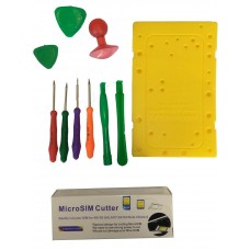 MOBILE PHONE OPENING TOOLS + SIM CUTTER