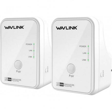 WAVLINK WL-NWP502M2 AV 500Mbps Mini Power Line & Extender