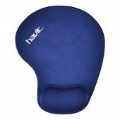HAVIT MOUSEPAD GEL ΜΠΛΕ, 190x170 mm