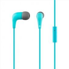 ACME GROOVY EARPHONES ΜΕ ΜΙΚΡΟΦΩΝΟ BLUE