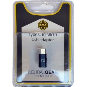NG ΑΝΤΑΠΤΟΡΑΣ Micro-USB (αρσενικό) σε υποδοχή Type C (θυληκό), BLISTER