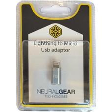 NG ΑΝΤΑΠΤΟΡΑΣ LIGHTNING ΣΕ MICRO USB, BLISTER