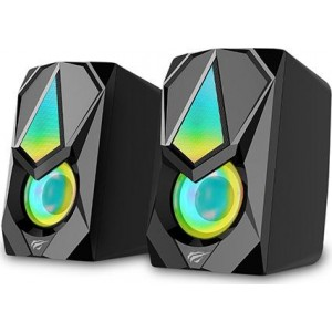 HAVIT SK563  ΗΧΕΙΑ 2.0, USB 2.0, ΜΕ LED