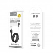 HOCO X29 SUPERIOR STYLE CHARGING DATA CABLE FOR LIGHTNING ΜΑΥΡΟ