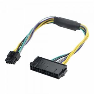 NG ΑΝΤΑΠΤΟΡΑΣ ΜΕΤΑΤΡΟΠΗΣ ΤΡΟΦΟΤΙΚΟΥ 24 pin ΣΕ 8 pin (Dell)