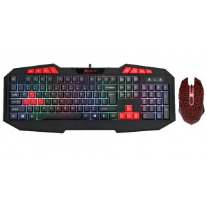XTRIKE MK-503 WIRED MOUSE AND KEYBOARD SET