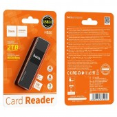 HOCO HB20 MINDFUL 2-IN-1CARD READER(USB2.0)