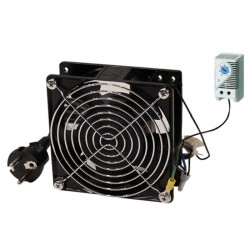 TECNOWARE FRA16368 COOLING FAN WITH THERMAL CONTROL 120X120, 220v