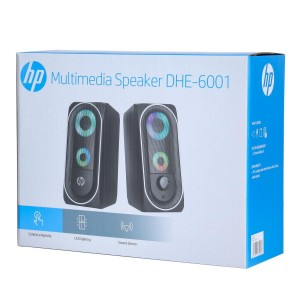 HP ΗΧΕΙΑ DHE-6001 USB ΜΕ LED ΜΕ ΕΙΣΟΔΟ ΑΚΟΥΣΤΙΚΩΝ