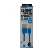 ΚΑΛΩΔΙΟ GFUN USB ΣΕ DATA/LIGHTNING IPHONE COMPATIBLE BLUE