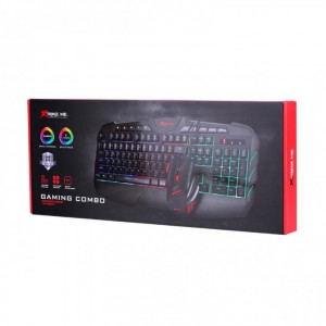 XTRIKE MK-880KIT WIRED MOUSE AND KEYBOARD COMBO