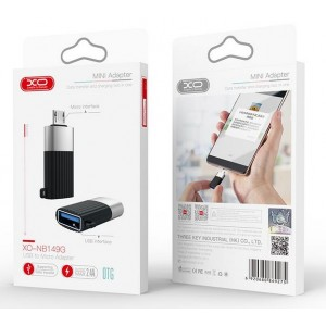 XO NB149-G  ΑΝΤΑΠΤΟΡΑΣ USB2.0 TO MICRO