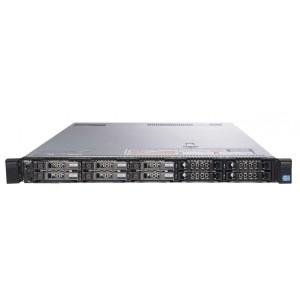 REF SERVER DELL POWEREDGE R620 1U, 2x E5-2660v2, 128GB, 2x 600GB SAS, H310 - GRADE A