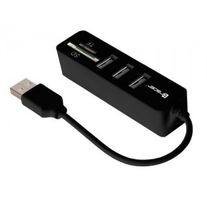 TRACER CARD READER ALL IN ONE HUB USB CH4