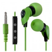 DEFENDER EARPHONES PULSE 455 ANDROID GREEN