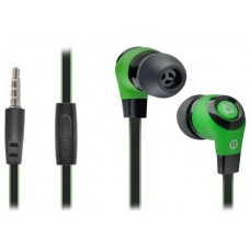 DEFENDER EARPHONES PULSE 430 BLACK & GREEN