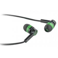 DEFENDER EARPHONES PULSE 420 BLACK & GREEN