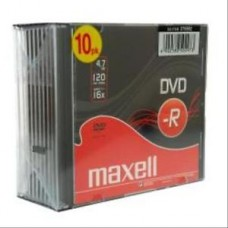 DVD-R MAXELL SLIM 4.7 16X