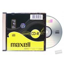 CD-R MAXELL SLIM 80XL 52X