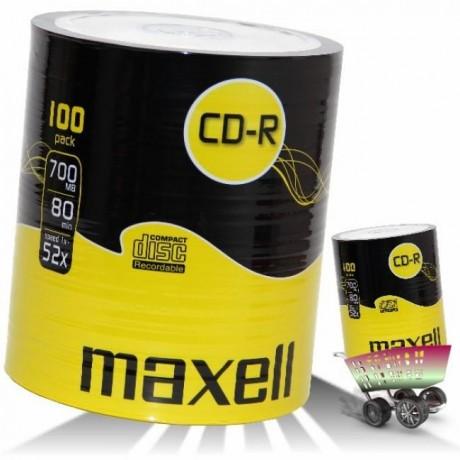 CD-R MAXELL 100αδα 80XL  52X