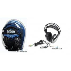 Deluxe Stereo Headset In-Line Volume Control