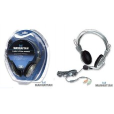 ΑΚΟΥΣΤΙΚΑ CLASSIC STEREO HEADSET FLEXIBLE METAL BOOM MICROPHONE