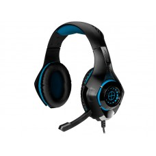 TRACER GAMING HEADSET BATTLE HEROES GUNMAN BLUE