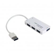 HUB USB 3.0 4-port hub, built-in USB cord