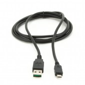 CABLEXPERT ΚΑΛΩΔΙΟ MICRO USB , DOUBLE-SIDED USB AM CONNECTOR 1m