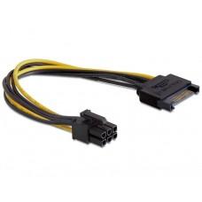 ΚΑΛΩΔΙΟ SATA TO 6-PIN ΓΙΑ PCI EXPRESS 0.2m