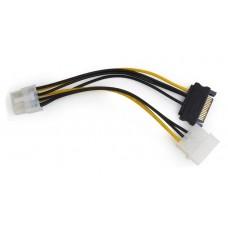 Καλώδιο τροφοδοτικού για PCI Express, 8 pin σε Molex + SATA
