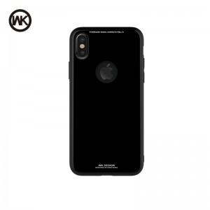 WK AZURE STONE MACAROON SERIES ΘΗΚΗ iPHONE 8 BLACK