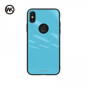 WK AZURE STONE MACAROON SERIES ΘΗΚΗ iPHONE 8 BLUE