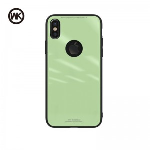 WK AZURE STONE MACAROON SERIES ΘΗΚΗ iPHONE 8+ GREEN