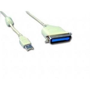 ΜΕΤΑΤΡΟΠΕΑΣ CABLEXPERT USB AM ΣΕ PARALLEL (BITRONICS) C36M 1.8m