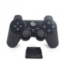 GEMBIRD ΧΕΙΡΙΣΤΗΡΙΟ GAMEPAD DUAL VIBRATION PS2/PS3/PC