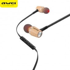 AWEI ES80TY INTELLIGENT MUSIC HEADSET ΞΥΛΙΝΑ ΑΣΗΜΙ