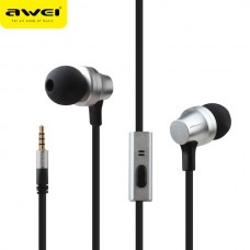 AWEI ES910I STEREO EARPHONES SUPER BASS HEADSET ΑΣΗΜΙ