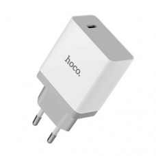 HOCO C24 QuickCharge 3.0 BELE USB CHARGER ΛΕΥΚΟ