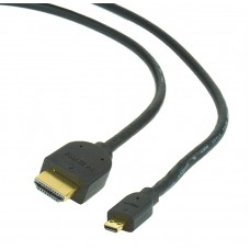 CABLEXPERT ΚΑΛΩΔΙΟ HDMI to MICRO HDMI v1.4, 1.8m