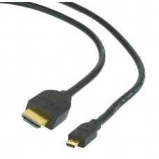 ΚΑΛΩΔΙΟ HDMI CABLEXPERT v.1.4 MALE-MICRO MALE 1.8m