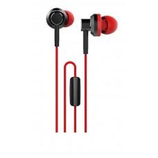 WESDAR R8 IN-EAR METAL EARPHONES ΜΑΥΡΟ-ΚΟΚΚΙΝΟ