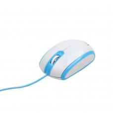 GEMBIRD ΠΟΝΤΙΚΙ USB ΛΕΥΚΟ-ΜΠΛΕ MUS105Β