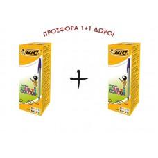 ΣΤΥΛΟ BIC CRISTAL 1.6 MULTICOLOR/B20