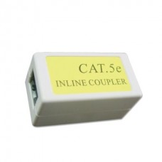 GEMBIRD CAT5E LAN IN-LINE RJ45 EXTENSION ΛΕΥΚΟ